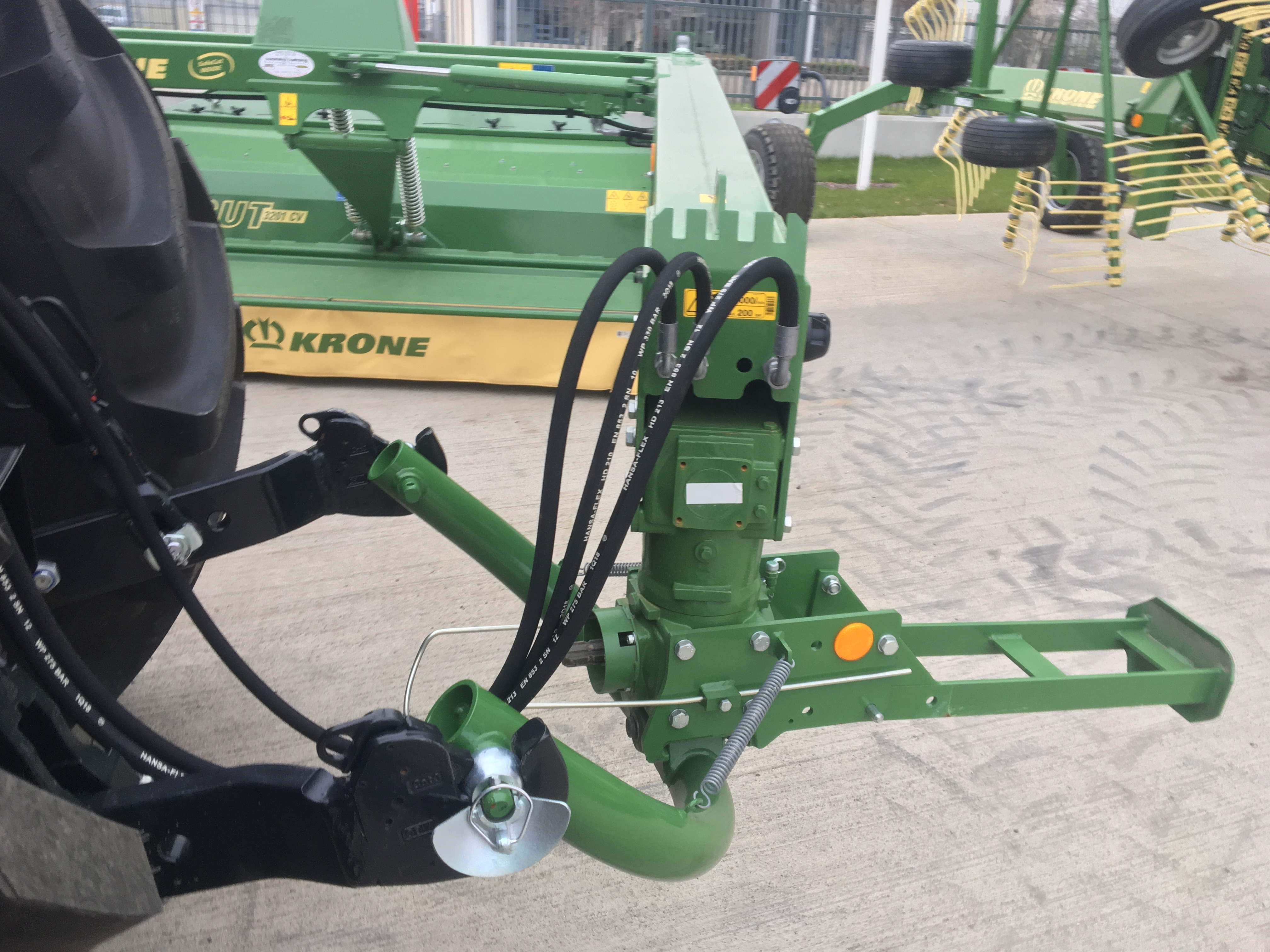 Easy-Cut Trailed Disc Mowers